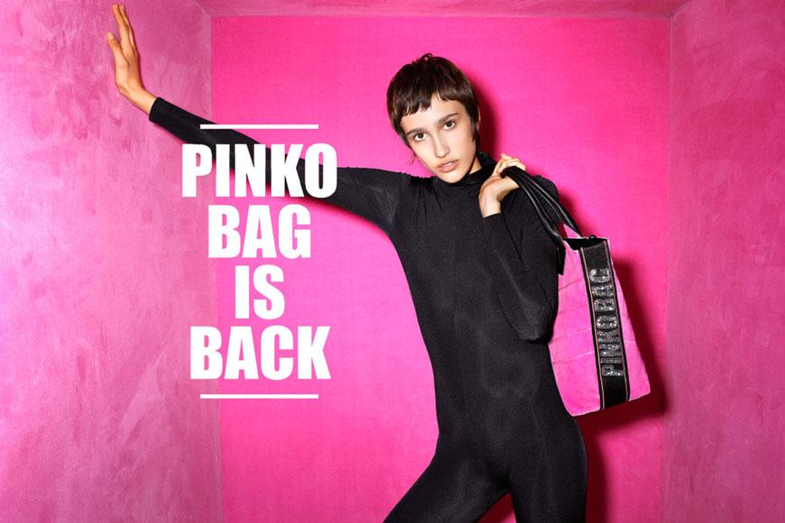 PINKO BAG IS BACK